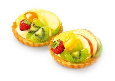 Vers Fruit vlaaitje 2 Stuks
