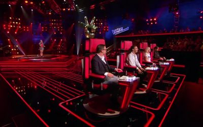 Sem Rooijakkers in The voice of Holland